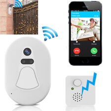 WiFi Video Türsprechanlage Türklingel Wireless Smart Doorbell Monitor mit Kamera