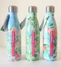 3x Starbucks Lilly Pulitzer Swell Bottles Limited Edition NEW