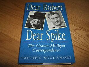 PAULINE SCUDAMORE-DEAR ROBERT DEAR SPIKE-SPIKE MILLIGAN-SIGNED X 2-1ST-HB-RARE
