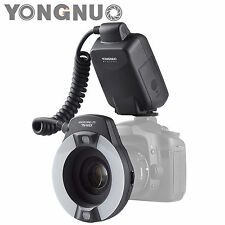 Yongnuo YN-14EX TTL Macro Ring Lite Flash Light for Canon with 4 Adapter Rings