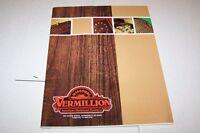 Vintage Catalog #944 - MISSOURI VERMILLION AMERICAN HARD WOOD products catalog
