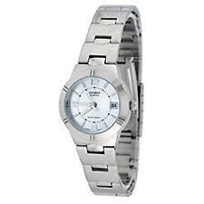 Casio Stainless Steel Case Women's Dress/Formal Wristwatches