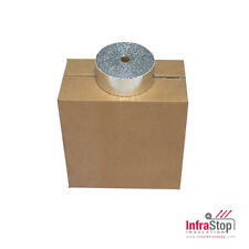 "InfraStop® 4""x25' Double Foil Pipe Wrap/Case of 12"
