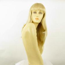 Perruque femme mi-longue blond doré méché blond très clair NOEMIE 24BT613