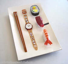 HORS d'OEUVRE! Seafood SUSHI Swatch in SPECIAL PACK! NIP-RARE!