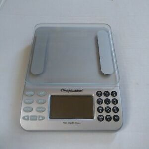 Weight Watchers Electronic Food Scale Points Plus Values Data Base - No Box