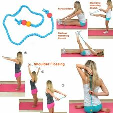 Stretch Out Strap Exercise Bands Stretching Workout Silicone Rope for Beginner