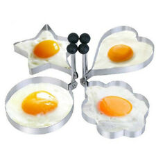 Fried Egg Non Stick Stainless Steel Pancake Ring Mold Cooking Plsei AqDeN