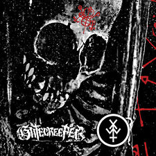 """Gatecreeper / Young And In The Way split 7"""" LP - RED VINYL Pentagram Candlemass"""