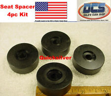 64 - 74 Dodge Challenger Cuda Barracuda Front Seat Rail Mounting Spacer Kit USA