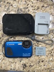 Canon PowerShot D30 12.1MP Digital Camera - Blue