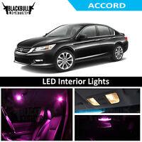 9X RED LED Interior Light Package KIT SMD Bulbs For Dodge Dart  2013 2014 J2
