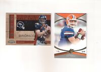 Tim Tebow Rookie Card 2010 Playoff Contenders Rookie Roll Call + SPX