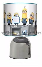 THE MINIONS MOVIE DESPICABLE ME ☆ BEDSIDE TOUCH LAMP ☆ BOYS NIGHT LIGHT ☆