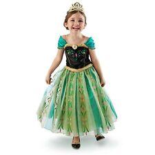 NEW FROZEN ANNA COSTUME DRESS GIRLS KIDS PARTY SKIRT DRESS PRINCESS ANNA