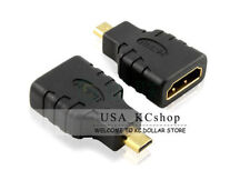 HDMI F to Micro HDMI M Cable Cord Adapter For Amazon Kindle Fire HD 7'' 8'' 9''