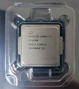 NEW Intel Core i7-6700 Skylake CPU 3.40GHz 8.0GT/s 8MB SR2L2 Socket LGA 1151