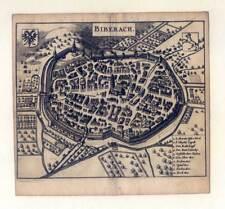 Biberach - Kupferstich Zeiller 1655 Selten!