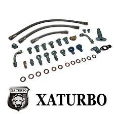 Oil & Water Line Kit Saab 9-3 9-5 AERO TD04 Turbochager Teflon Hose