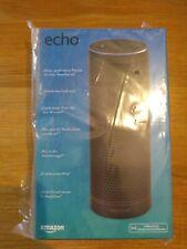 Amazon Echo (1st Generation) Smart Assistant - Black - EU PLUG