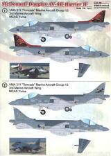 Print Scale Decals 1/48 MCDONNELL DOUGLAS AV-8B HARRIER II Part 2