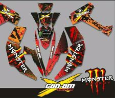 CAN-AM can AM Renegade 500 800R 800X 800 X R 1000 set decals, Racing graphics