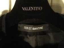 TER ET BANTINE GIACCA TG. 40/42 COLORE NERO IN LANA POLIESTERE