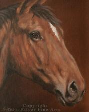 HORSE PORTRAIT ORIGINAL OIL PAINTING by Award Winning Master Artist JOHN SILVER