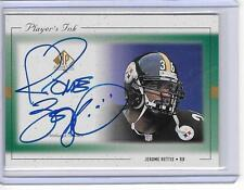 JEROME BETTIS 1999 UPPER DECK SP AUTHENTIC PLAYERS INK AUTOGRAPH