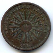 ARGENTINE RÉPUBLIQUE 2 CENTAVOS 1854
