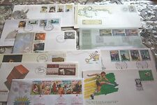 Stamp Collection x 11 Australian First day covers 90's lot mixed lot FDC.