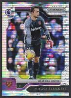 2019-20 Prizm Premier League BREAKAWAY #1 Lukasz Fabianski West Ham United