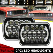 5x7 6x7''inch LED Headlight DRL H4 Bulbs Hi-low Beam For Freightliner FL50 Truck