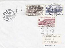 Ships, Boats Cover Austrian Stamps