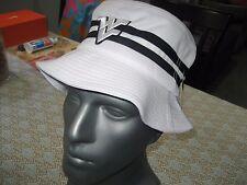1b74d7d5b68 WEST VIRGINIA MOUNTAINEERS WV NCAA Bucket Cap Hat WHITE BLACK 7 7 1 4