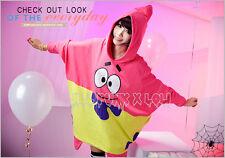 american street cartoon visual spongebob patrick star cosplay hoodie 【JLY0005】