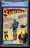 Superman #133 CBCS VF 8.0 Off White to White