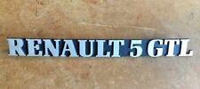 Renault 5 GTL Monogramme NEUF