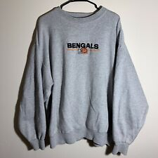 Vintage Men's Majestic Cincinnati Bengals Sweatshirt Sz XL Embroidered NFL RARE