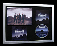 PAPA ROACH+SIGNED+FRAMED+F.E.A.R.+FEAR+RESORT=100% AUTHENTIC+EXPRESS GLOBAL SHIP