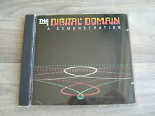 hi fi test CD audiophile*EX+* THE DIGITAL DOMAIN A Demonstration *1983 ORIGINAL*