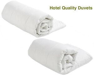 Hotel Quality Duvet Quilt Classic Hollowfibre -Togs 4.5, 10.5, 13.5, 16.5