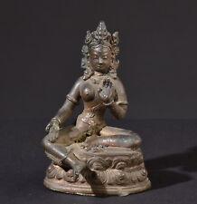 Syama- Tara. Alte Bronze Figur. Old statue (Buddha Tibet Tibetan Asiatika)