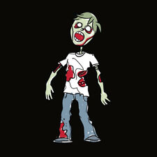 Family Car Stickers 4.75 inches tall Vinyl Auto Decal Zombie Boy/Teen (USA Made)