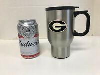Brand New Georgia Bulldogs 14 oz Stainless Steel Travel Mug