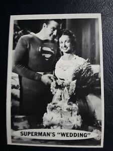 1965 Superman Card # 42 Nice!!