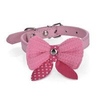 Bow Tie Necktie Dog Puppy Cat Bowknot Pet Collar Polka Dot Choker Necklace RDBD