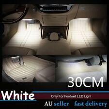 4x 144LM White 30cm 3528 18-SMD LED Strip Light Car Footwell Foot Well Bright