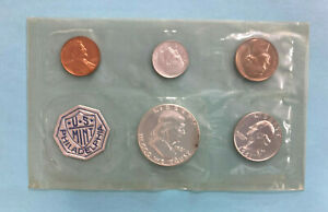 1961 US Proof Set US Silver Proof Coins ~ 5 Coin Set