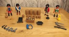 Vintage Playmobil Private Figure Set Treasure Guns VGC !